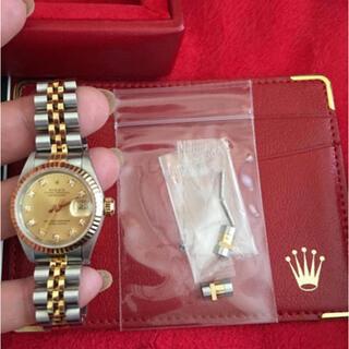 ROLEX - 正規品ROLEXレディース10pダイヤモンド、時計