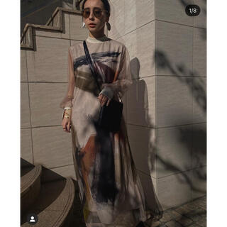 Ameri VINTAGE - Ameri VINTAGE LOUISE ART DRESS 新宿ルミネ限定。