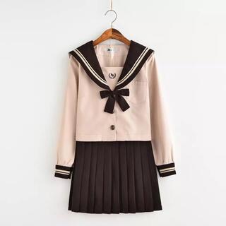新品 未使用 セーラー服上下セット 長袖 大きいサイズ 3l コスプレ 可愛い(衣装一式)