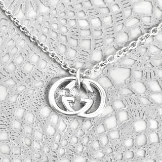 Gucci - 正規品 グッチ ネックレス シルバー SV925 GG インターロッキング 銀7