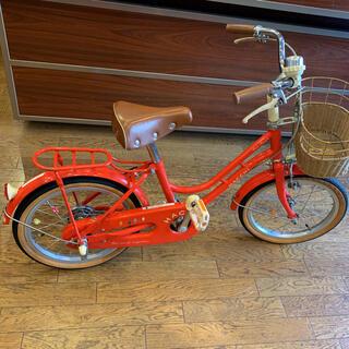 ブリヂストン(BRIDGESTONE)の自転車 16インチ 赤 ブリヂストン(自転車)