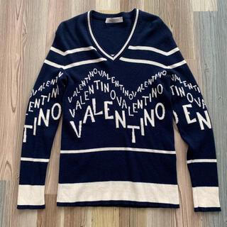 VALENTINO - Valentino(ヴァレンティノ)ネンビーVロゴニットM