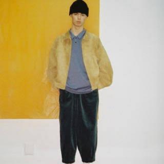SUNSEA - wonderland 18aw Suede drizzler jacket