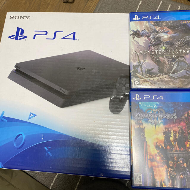 PlayStation4(プレイステーション4)のさわちゃん様専用SONY PlayStation エンタメ/ホビーのゲームソフト/ゲーム機本体(家庭用ゲーム機本体)の商品写真