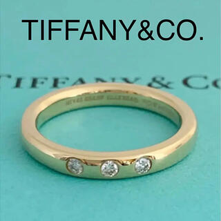 Tiffany & Co. - ティファニー k18 ダイヤモンド リング