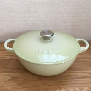 ルクルーゼ(LE CREUSET)のルクルーゼ マルミット ワサビ 18cm(鍋/フライパン)