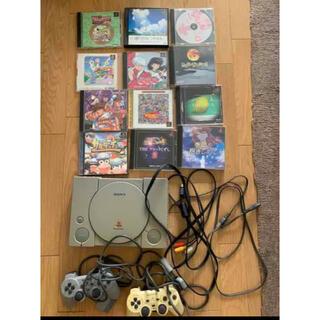 プレイステーション(PlayStation)のプレイステーション 本体 ソフト まとめ売り(家庭用ゲーム機本体)