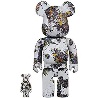 ベアブリック Jackson Pollock Studio 400&100%(その他)
