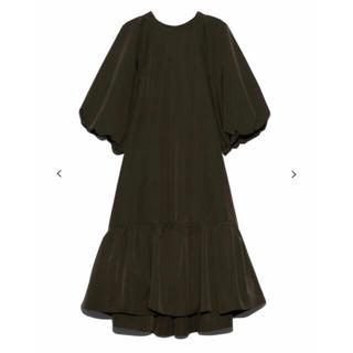 ファーファー(fur fur)のFURFUR 20AW ペタルドレス ワンピース タグ付き新品(ひざ丈ワンピース)