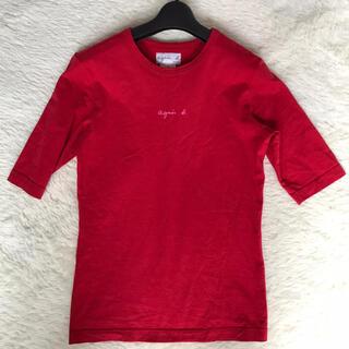 agnes b. - 美品used【agnesb】サイズ1/red/5丈袖🎗