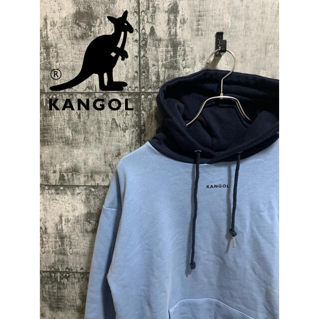 KANGOL(カンゴール)の【別注】KANGOL カンゴール× RAGEBLE レイジブルー パーカー 切替 メンズのトップス(パーカー)の商品写真