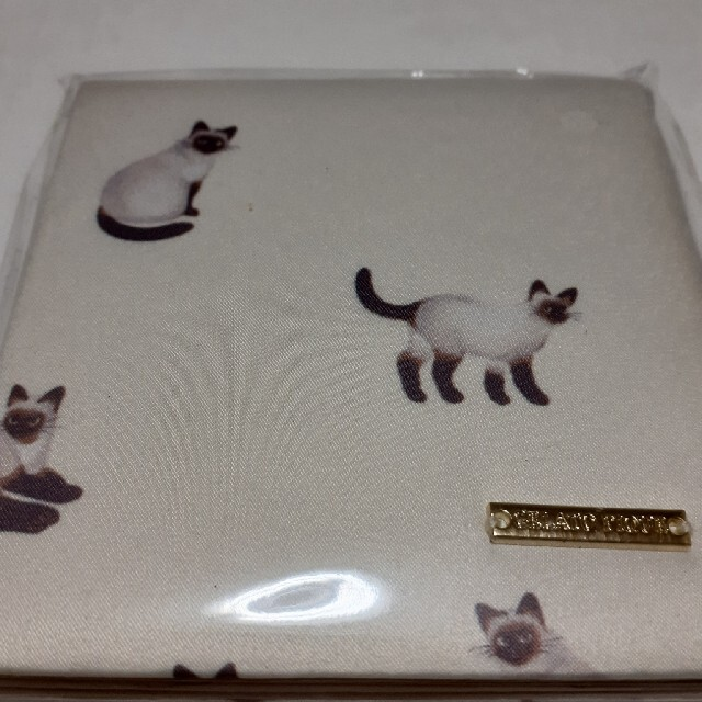 gelato pique(ジェラートピケ)の新品 ジェラートピケ シャムネコ ミラー レディースのファッション小物(ミラー)の商品写真