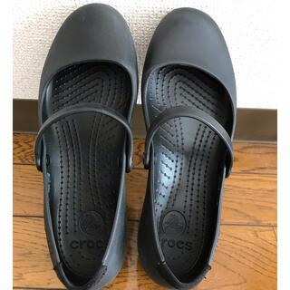 crocs - クロックス アリスワーク w8 ブラック