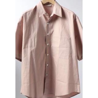 COMOLI - AURALEE / オーラリー 20SSウォッシュドフィンクス ビッグシャツ
