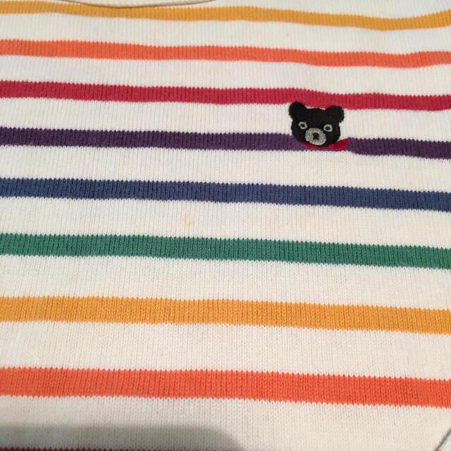 DOUBLE.B(ダブルビー)のダブルビー ミキハウス   長袖ロンT キッズ/ベビー/マタニティのキッズ服男の子用(90cm~)(Tシャツ/カットソー)の商品写真