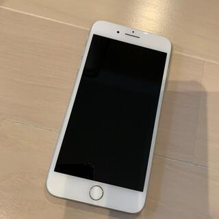 アイフォーン(iPhone)のiPhone8Plus ホワイト シルバー 64G 美品(スマートフォン本体)