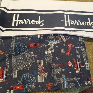 Harrods - Harrods ハロッズ ティータオル 2枚セット