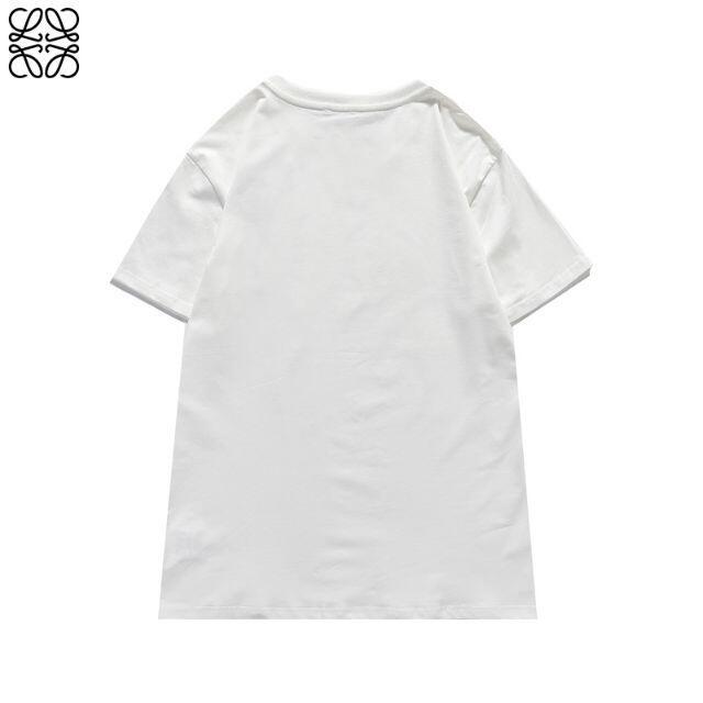 LOEWE(ロエベ)の2枚8000円 ロエベ 0603 ロゴ 男女兼用 半袖/Tシャツ メンズのトップス(Tシャツ/カットソー(半袖/袖なし))の商品写真