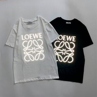 LOEWE - 2枚8000円 ロエベ 0603 ロゴ 男女兼用 半袖/Tシャツ