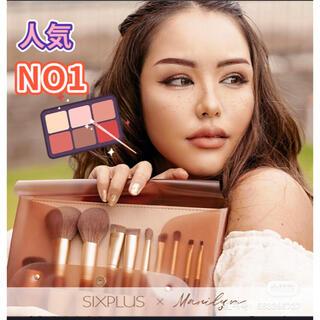 ★送料無料 ★ SIXPLUS メイクブラシ10本セット--Melodyシリーズ