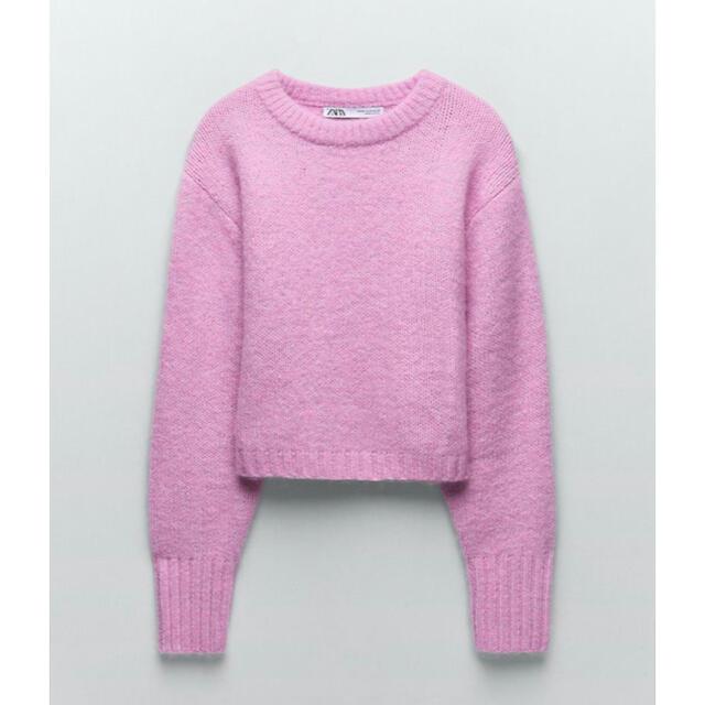 ZARA(ザラ)のzara knit レディースのトップス(ニット/セーター)の商品写真