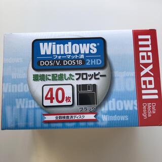 マクセル(maxell)の3.5インチフロッピーディスク 2HD40枚10セット(PC周辺機器)