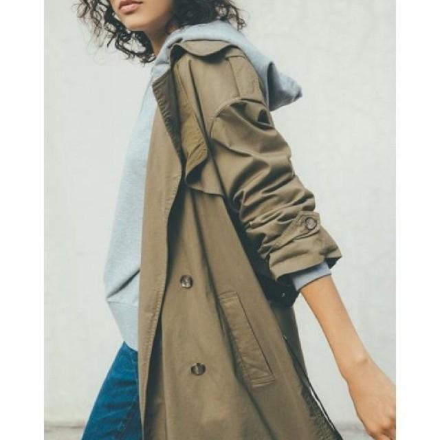 Mila Owen(ミラオーウェン)の新品未使用♡ミラオーウェン♡ビッグシルエットトレンチコート レディースのジャケット/アウター(トレンチコート)の商品写真