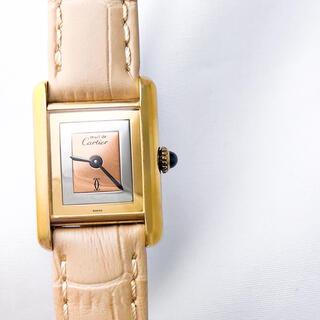 Cartier - 【仕上済】カルティエ タンク トリニティ SM レディース 腕時計