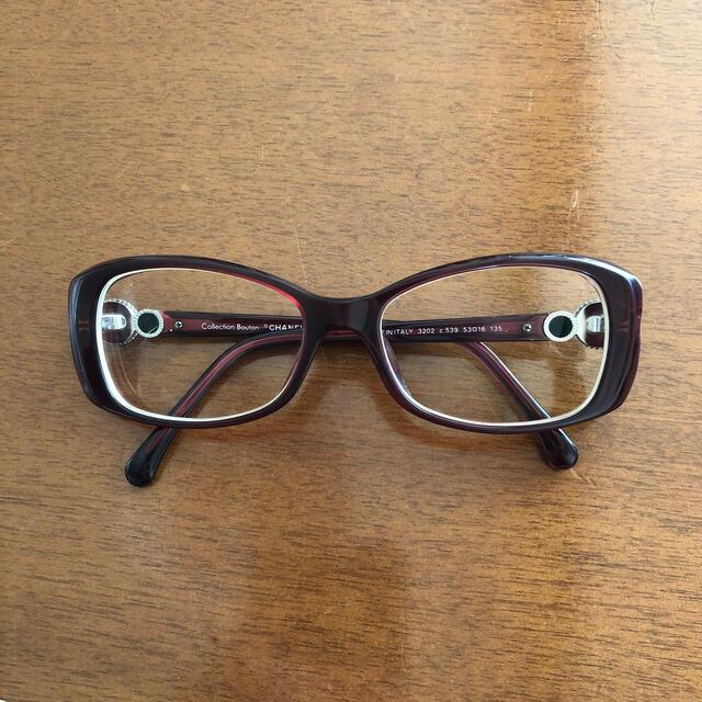 CHANEL(シャネル)のシャネル♡メガネフレーム レディースのファッション小物(サングラス/メガネ)の商品写真