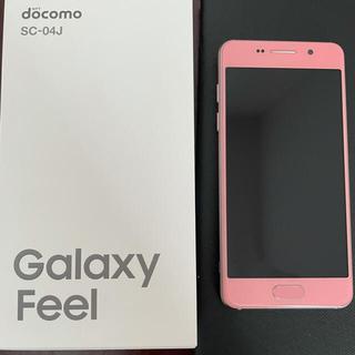 Galaxy - docomo Galaxy Feel SC-04J 白ロム SIMロック解除
