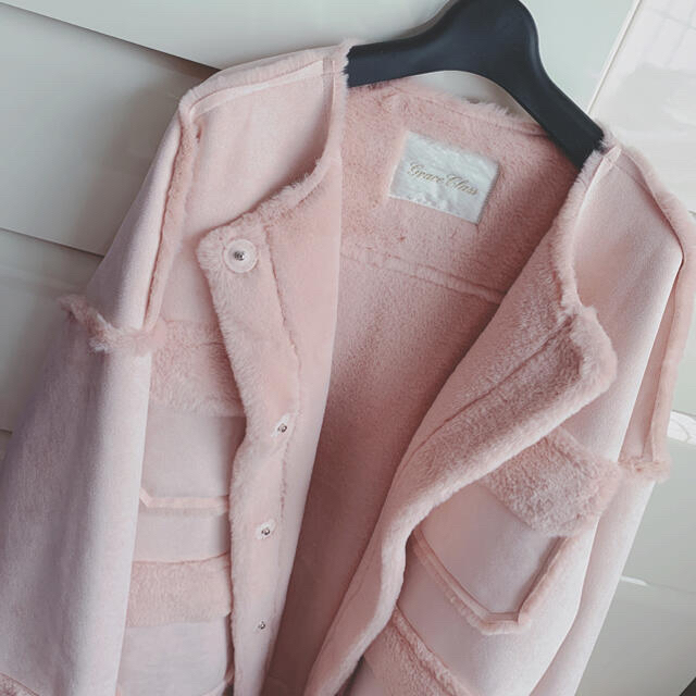 GRACE CONTINENTAL(グレースコンチネンタル)のgrace continental ムートン コート ジャケット レディースのジャケット/アウター(ムートンコート)の商品写真