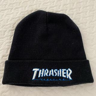 スラッシャー(THRASHER)のthrasher スラッシャー ニット ビーニー 帽子 street B系(ニット帽/ビーニー)