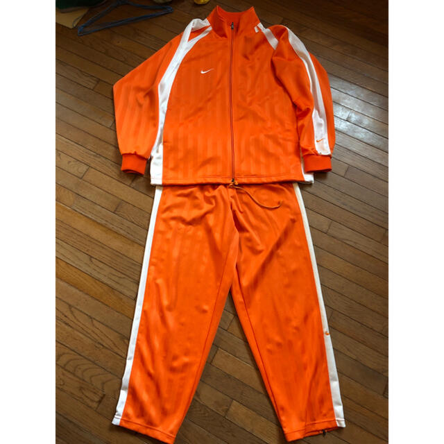 NIKE(ナイキ)のナイキ ジャージ上下 オレンジ XXL メンズのトップス(ジャージ)の商品写真