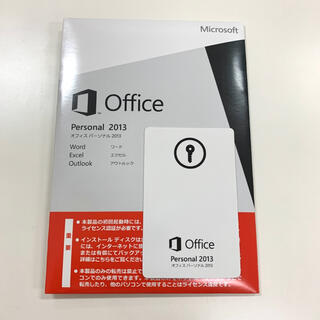 Microsoft - 送料無料・最短即日発送 正規品 Office 2013 Personal