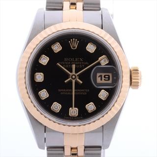 ROLEX - ロレックス デイトジャスト SS×YG   レディース 腕時計