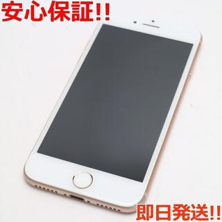 アイフォーン(iPhone)の美品 SIMフリー iPhone8 256GB ゴールド (スマートフォン本体)