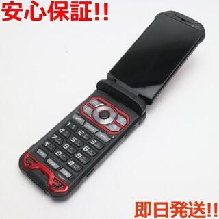 キョウセラ(京セラ)の超美品 au KYF33 TORQUE X01 レッド (携帯電話本体)