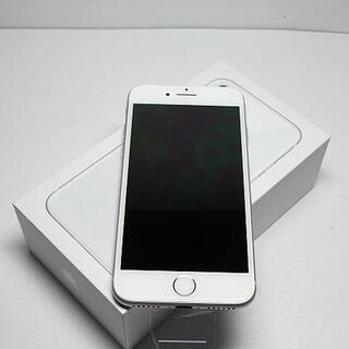 アイフォーン(iPhone)の新品 SIMフリー iPhone8 64GB シルバー (スマートフォン本体)