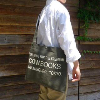 サンシー(SUNSEA)の美品 COW BOOKS カウブックス Shoulder Tote 最終値下げ(トートバッグ)