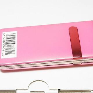 キョウセラ(京セラ)の新品 au GRATINA ピンク 白ロム(携帯電話本体)