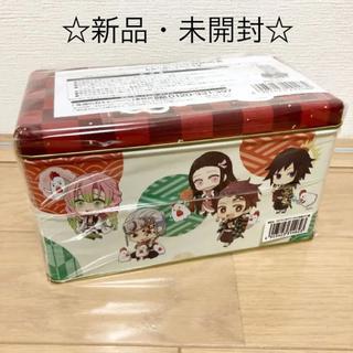 集英社 - 【新品・未開封】鬼滅の刃 からあげクンBOX缶 ローソン シール付き☆クリスマス