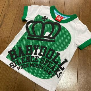 BABYDOLL - ベビードール  半袖Tシャツ 80