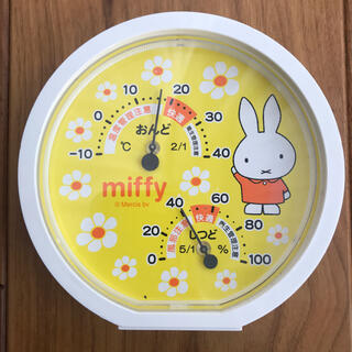 アカチャンホンポ - ミッフィー丸型温湿度計