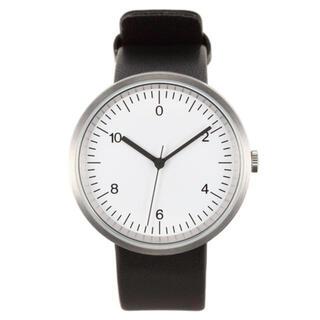 MUJI (無印良品) -  無印良品 腕時計 Wall Clock シルバー