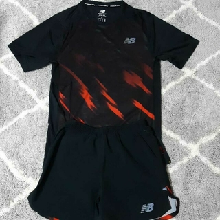 ニューバランス(New Balance)のニューバランス Tシャツ ハーフパンツ セット S(ウェア)