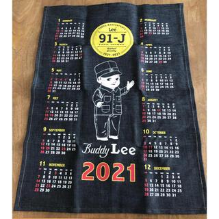リー(Lee)のLee  壁掛け2021年カレンダー(カレンダー/スケジュール)