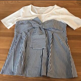 エージーバイアクアガール(AG by aquagirl)のトップス(Tシャツ(半袖/袖なし))