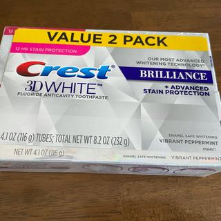 P&G - クレスト 3Dホワイト ブリリアンス × 3個