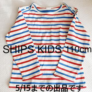 シップスキッズ(SHIPS KIDS)のボーダー ロンT トップス キッズ 子ども 親子コーデ オシャレ 女の子 男の子(Tシャツ/カットソー)