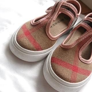 BURBERRY - BURBERRY 子供 靴